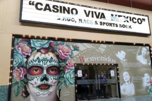 Fachada principal casino viva mexico