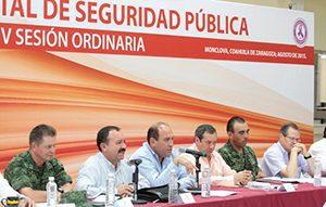 Consejo Estatal de Seguridad Coahuila